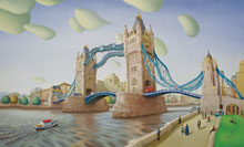 richard forster tower bridge painting